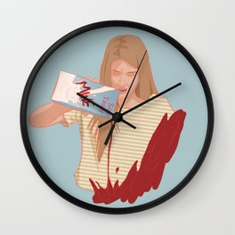 laura hollis Wall Clock