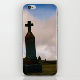 Cross on the Hill iPhone Skin