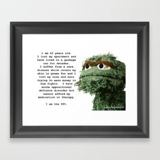 The 99 Percent Framed Art Print
