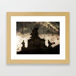Victoire Framed Art Print