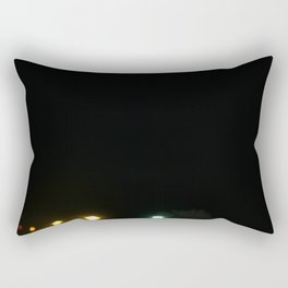 Signs of light against the dark of night Rectangular Pillow