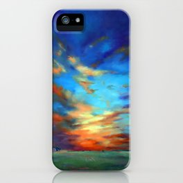 Sunset in the Heartland iPhone Case