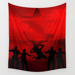Season Of The Witch Wall Tapestry