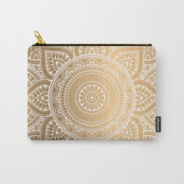 Gold Mandala 3 Carry-All Pouch