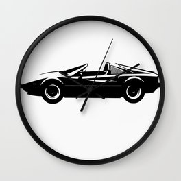 Exotic Sportscar Design by Bruce Gray Wall Clock