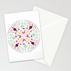 Rainforest mandala Stationery Cards