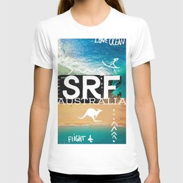 Surfing Surf Australia T-shirt