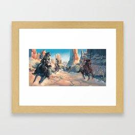 Bushwacked Framed Art Print