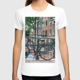 Bicycles in Amsterdam T-shirt