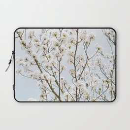 Flowering Springtime Hawthorn tree. Laptop Sleeve