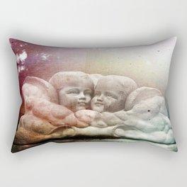 Cherubs Glow Rectangular Pillow