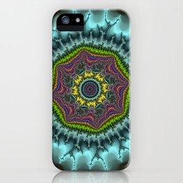 Fractal Agate iPhone Case