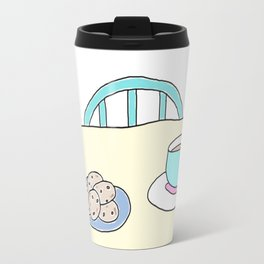 Hot beverage and cookies Travel Mug