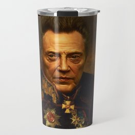 Christopher Walken - replaceface Travel Mug