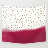 dot Wall Tapestries featuring dot dot space by Francesco Pittiglio Berger