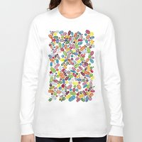 pills Long Sleeve T-shirts featuring Pills by Eleacuareling