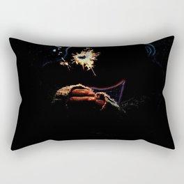 Holding the Spark Rectangular Pillow