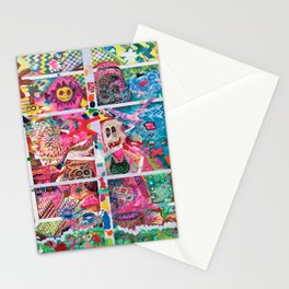 Subconsious Safari By Artist Jeff Parrott Psyexpression Stationery Cards