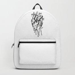 Dying inside Backpack