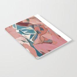 Les demoiselles d'Avignon - Pablo Picasso - Art Poster Notebook