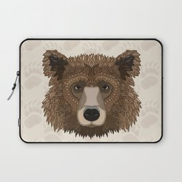 Grizzly Bear Laptop Sleeve