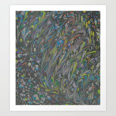 Marble Print #34 Art Print