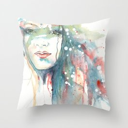 Girl ASD 02 Throw Pillow