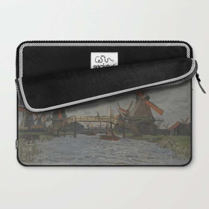 Windmills near Zaandam Laptop Sleeve