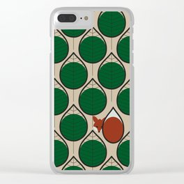 foxtrot Clear iPhone Case