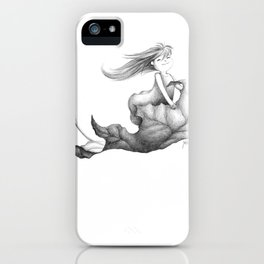 nimbly in flight iPhone Case