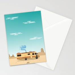 Breaking Bad Truck Stationery Cards