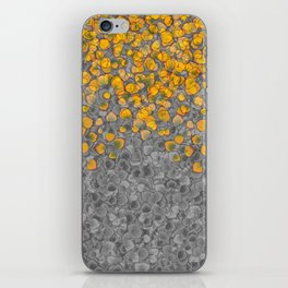 Real Aspen Leaves Collage iPhone Skin
