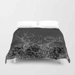 Dark night forest Duvet Cover