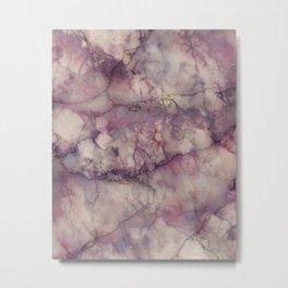 Mystic Marble Metal Print