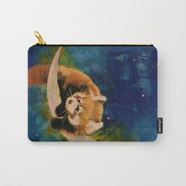 Red Panda Moon Carry-All Pouch