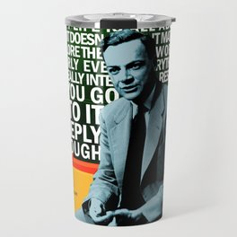 Richard Feynman Quote 1 Travel Mug