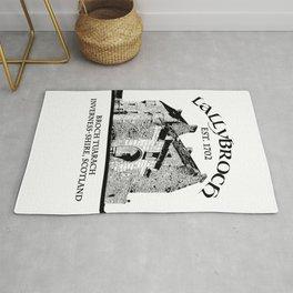 Lallybroch Outlander Rug