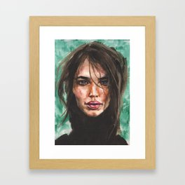 Turtleneck Days Framed Art Print