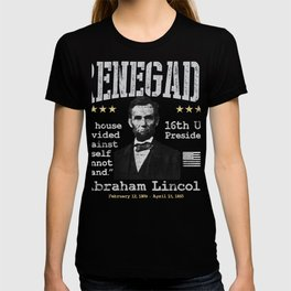 Abraham Lincoln, 16th U.S. President | Renegade T-shirt