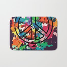 Peace & Freedom Bath Mat