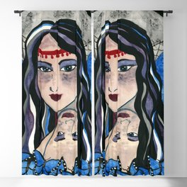 Queen Mab Weaver of Dreams Blackout Curtain
