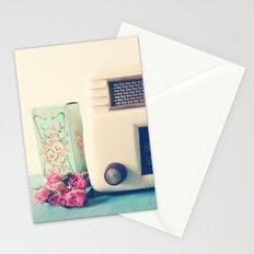 Retro Radio Stationery Cards