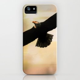 Soar High And Free iPhone Case
