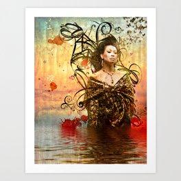 HVH Yukari  Art Print