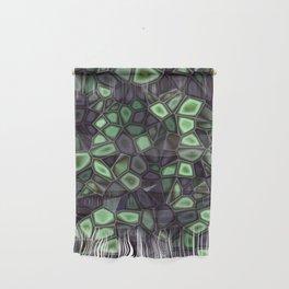 Fractal Gems 04 - Emerald Dreams Wall Hanging