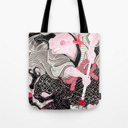 Samurai Toad Tote Bag