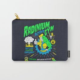Radinium Gym - Fitness - Gym - Funny - Illustration - Nuclear Carry-All Pouch