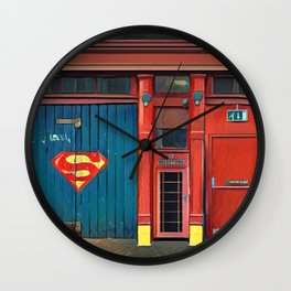 Firestation Wall Clock