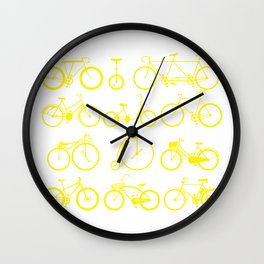 Bicycle history time unicycle art gift Wall Clock