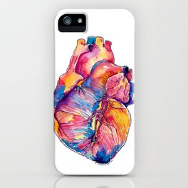 Heart Is On Fire iPhone Case
